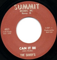 Savoys|Can It Be