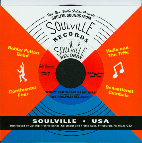 Soulville All-Stars|I'm Gonna Get To You