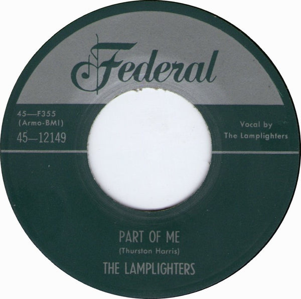 Lamplighters|Part Of Me