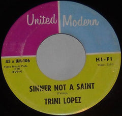 Lopez, Trini|Sinner Not A Saint