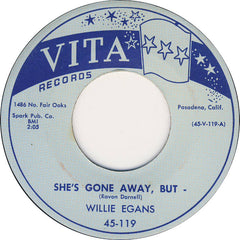 Egans, Willie|She's Gone