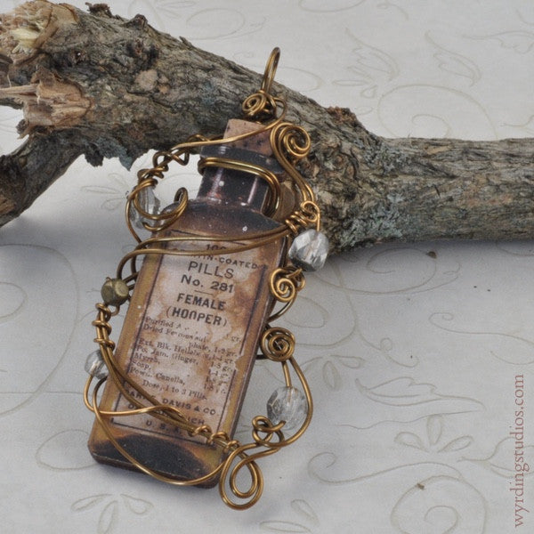 Apothecary Pendant (Magpie Rummage Sale)