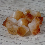 Citrine crystal points