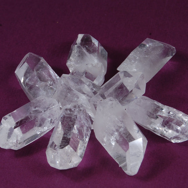 Ethically Mined Quartz Crystals from Arkansas