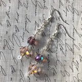 Vintage Crystal & Glass Earrings