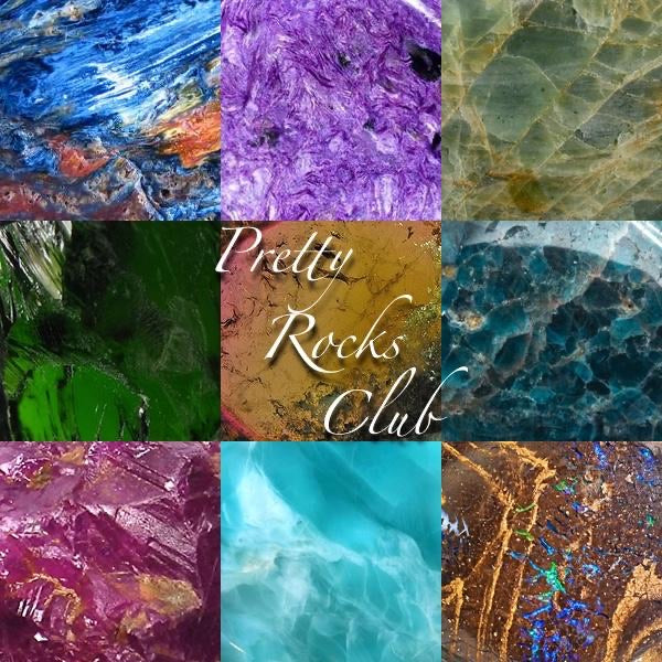 January Pretty Rocks Club - Black Sunstone