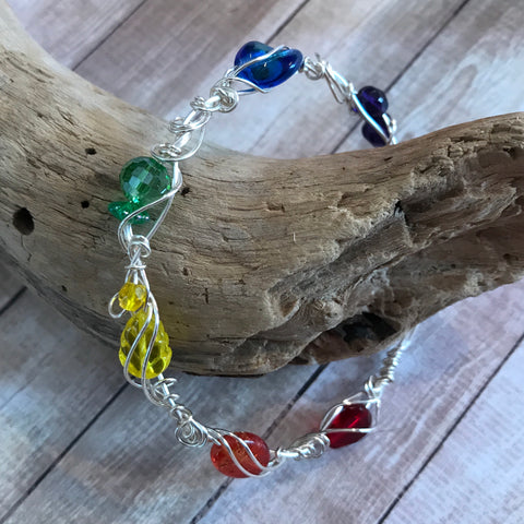 Pride 2018 - sample bracelet