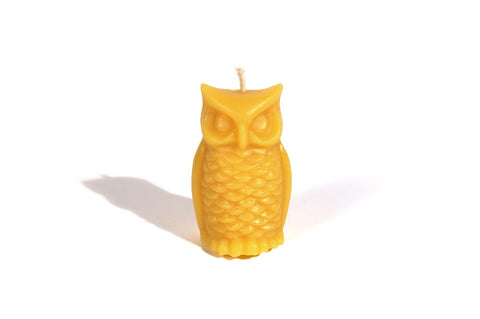 Owl Shaped Candle - Urban Buzz