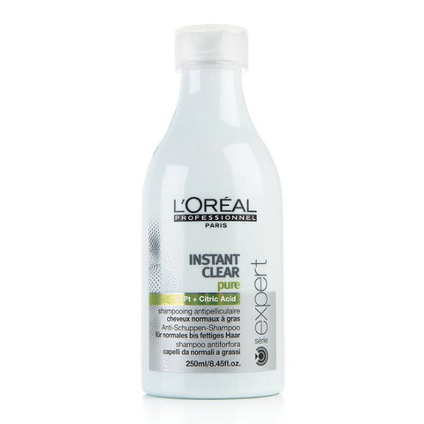 L'Oréal Instant Clear Почистващ шампоан за нормален до мазен скалп