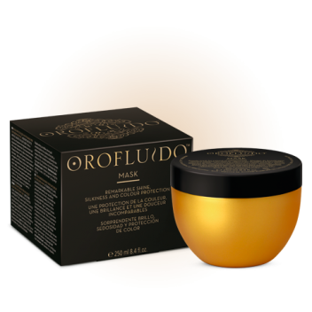 Orofluido Remarkable Shine Silkiness and Color Protection Mask Хидратираща и Възстановяваща Маска 250 мл.