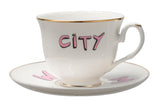 Suffragette City Tea Cup and Saucer