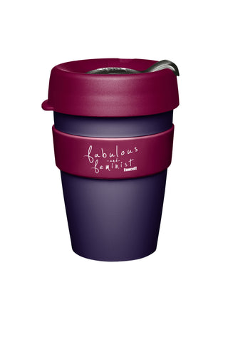 FABULOUS & FEMINIST KeepCup - Purple