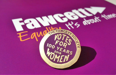 Votes for Women Pin Badge - Collector's Item