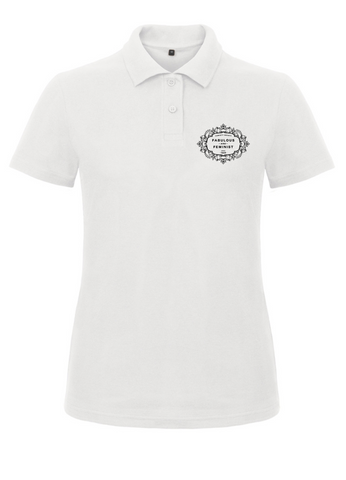 FABULOUS & FEMINIST Polo Shirt (Fitted)