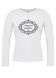 FABULOUS & FEMINIST Long Sleeve T-Shirt (Fitted)