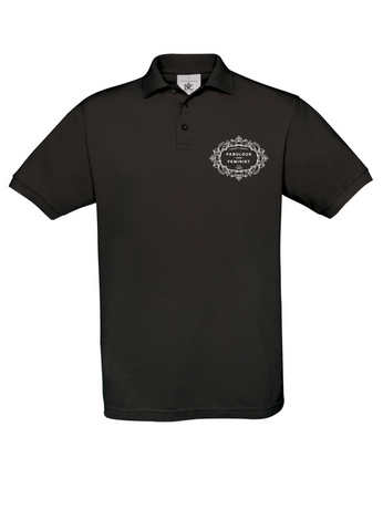 The Fawcett Society 'Fabulous and Feminist' Black Mens Polo