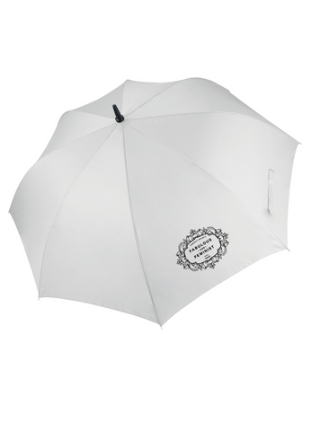 The Fawcett Society 'Fabulous and Feminist' White Umbrella