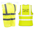 THIS IS WHAT A FEMINIST LOOKS LIKE Hi Vis Vest
