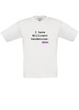 The Fawcett Society Children's T-shirt: I have Millicent tendencies