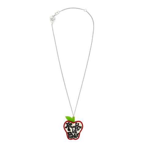 Knowledge Is Power Necklace