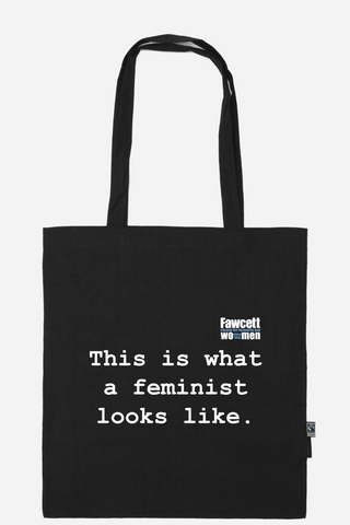 THIS IS WHAT A FEMINIST LOOKS LIKE Bag
