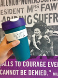 Centenary pack: Suffrage KeepCup + Collector's Pin Badge