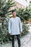 Mens Kurta - Grey