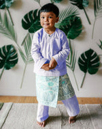 Kids Baju Melayu (1Y-5Y) - Purple (Sampin sold separately) SOLD OUT