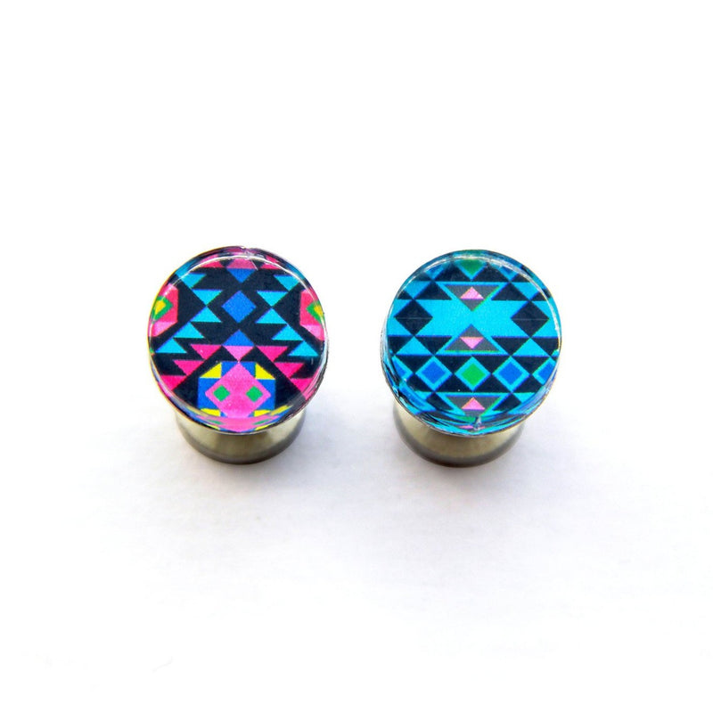Blue Aztec Cufflinks