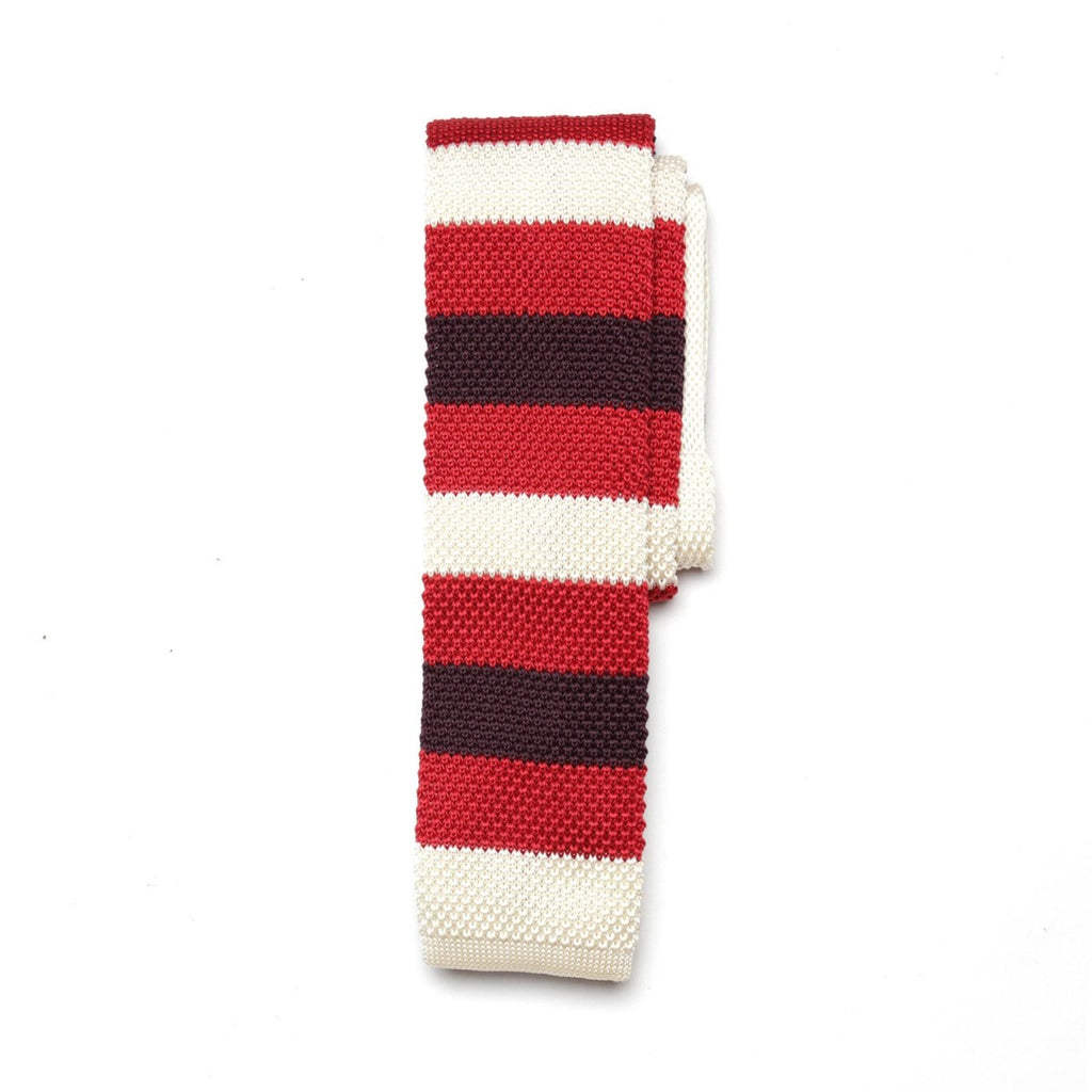 Triko Fire x White Oxblood Stripe