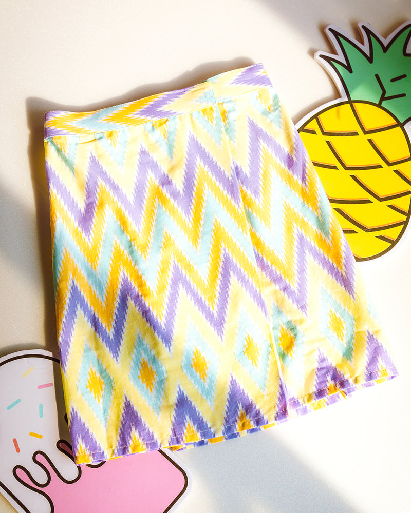 Purple Ziggy Zag Kids Sampin