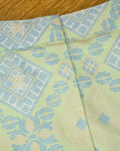 Lime Green Songketmania Kids Sampin