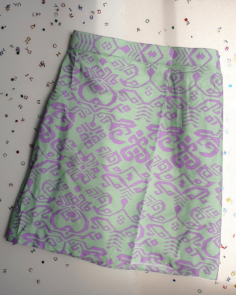 Green Songketsungki Kids Sampin