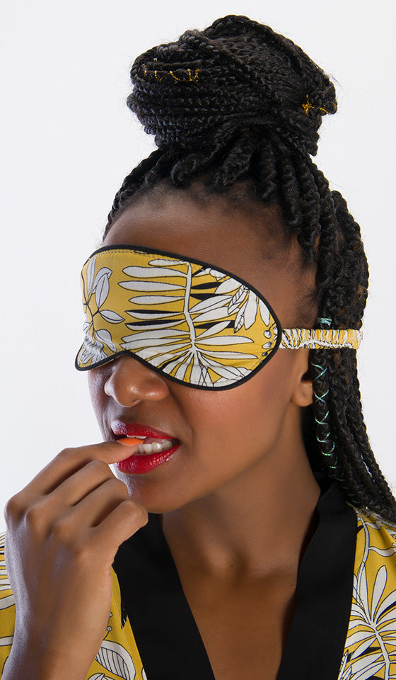 Sleep Mask Gold