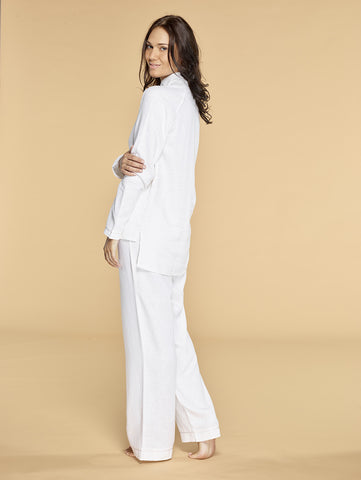 The Teresa Pyjamas Linen | Claudia Moruzzi Designs - Luxury Sleepwear