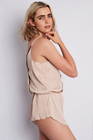 The Olga Playsuit Shell | Claudia Moruzzi Designs - Luxury Sleepwear