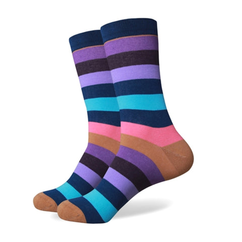 Striped Socks - Choose from 3 Amazing Colors