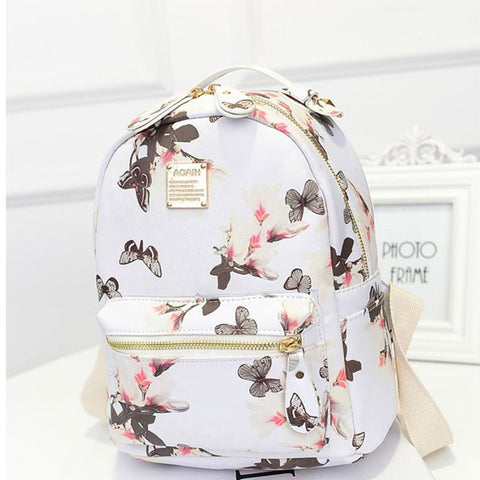 Floral Backpack (3 Colors)