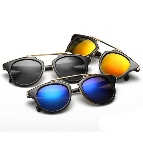 Round Sunglasses (13 Colors) - TakeClothe - 1