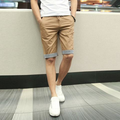 Contrast Chino Shorts (2 Colors) - TakeClothe - 1