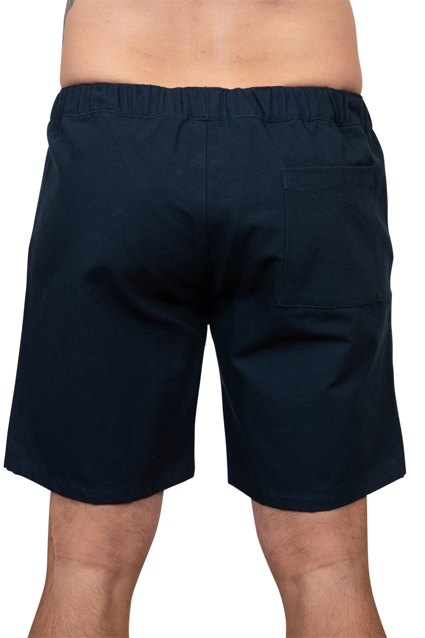 KINN 398 Collection Cotton walk shorts in Navy