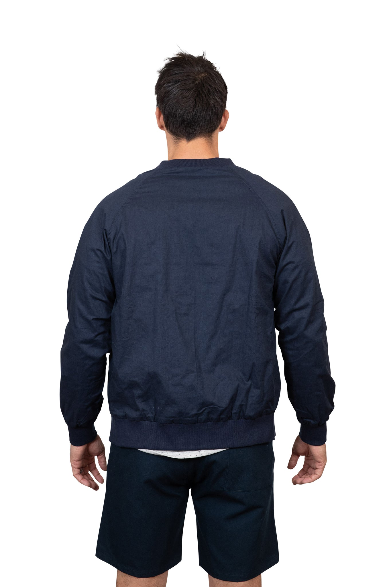 KINN 398 Collection Linen Bomber Jacket