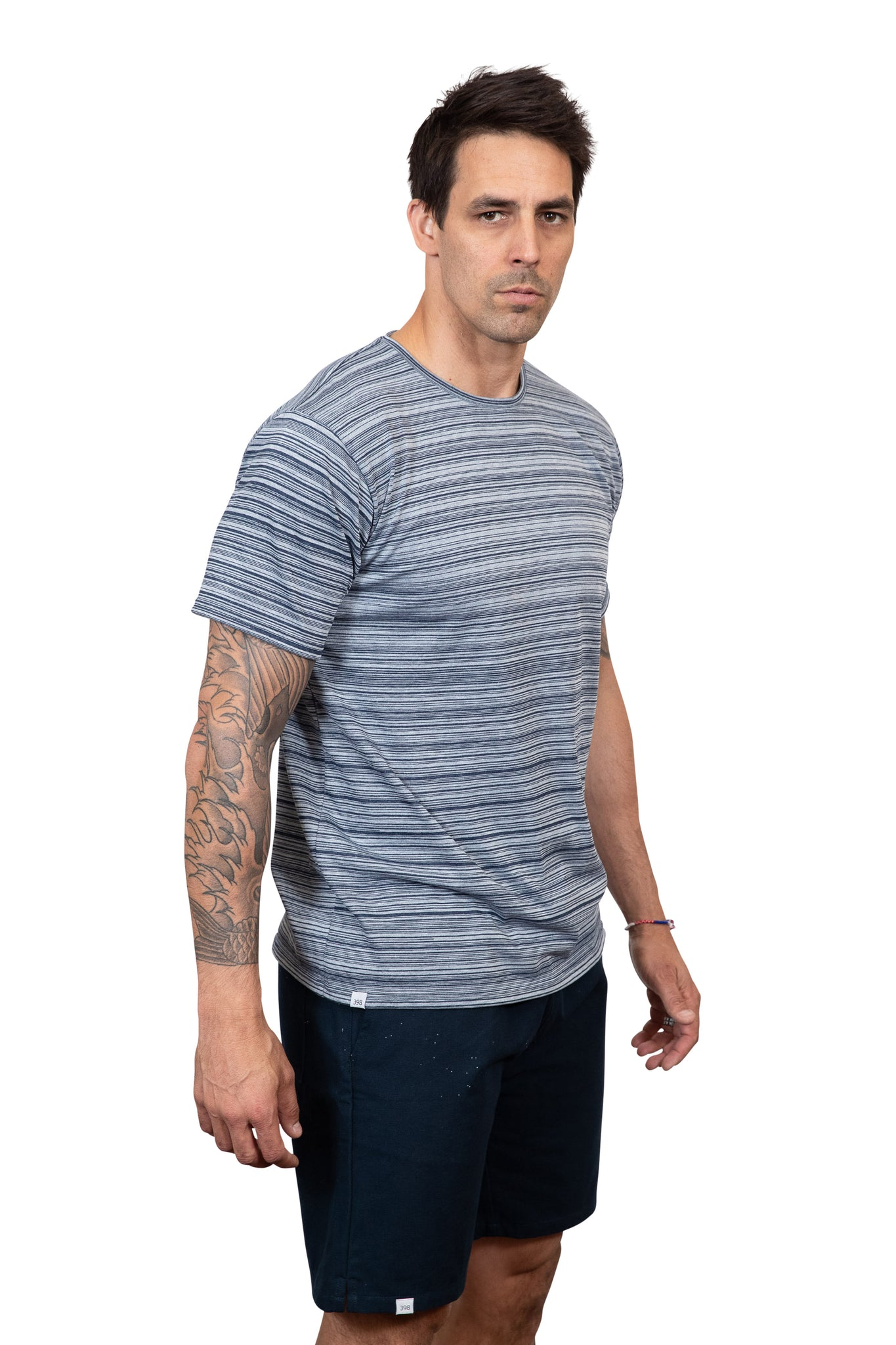 KINN 398 Collection Short sleeved round neck tee shirt