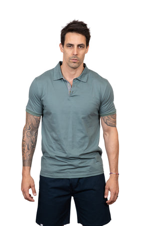 KINN 398 Collection Cotton Polo T-shirt