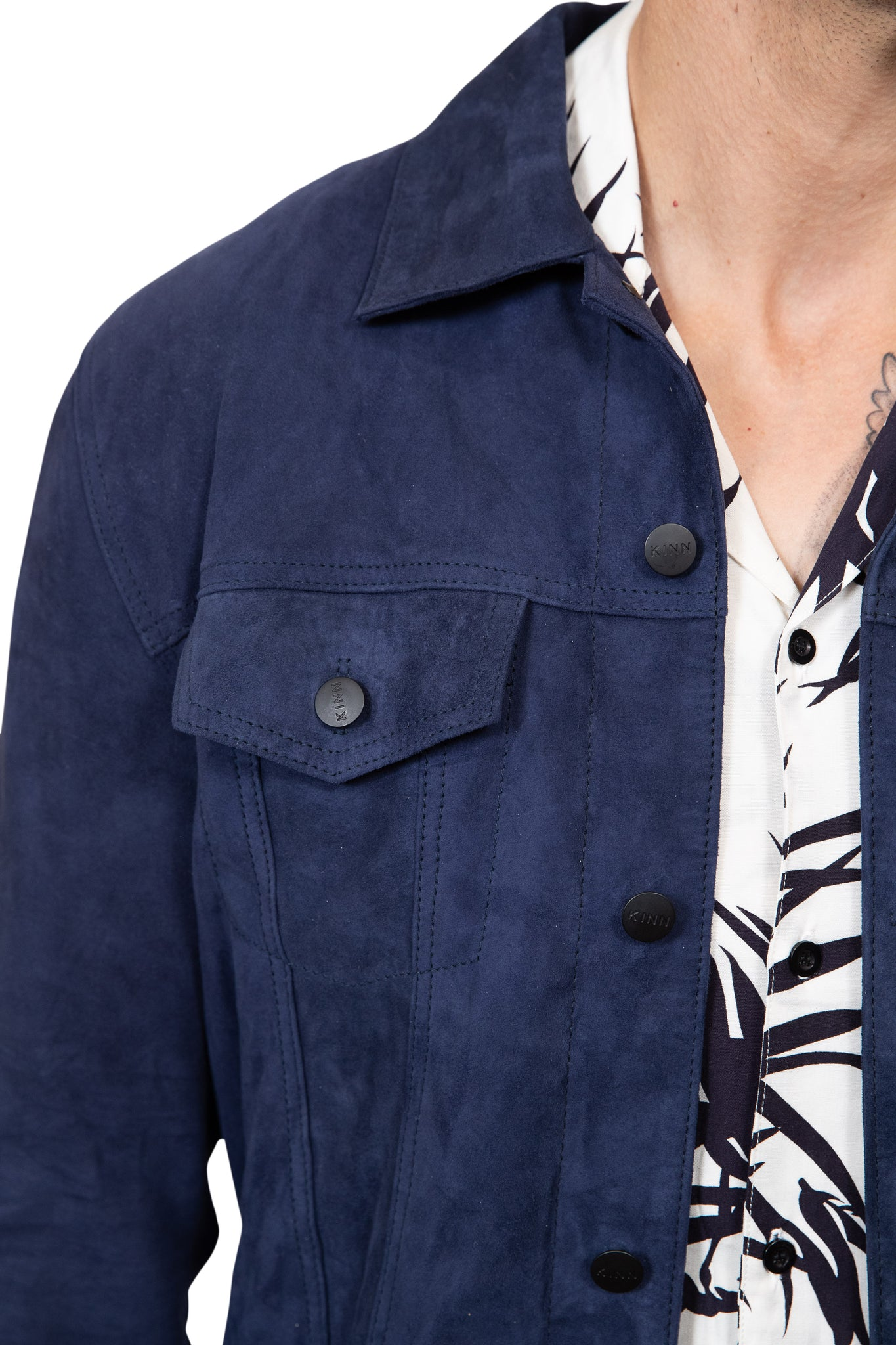 KINN 398 Collection Suede Jacket