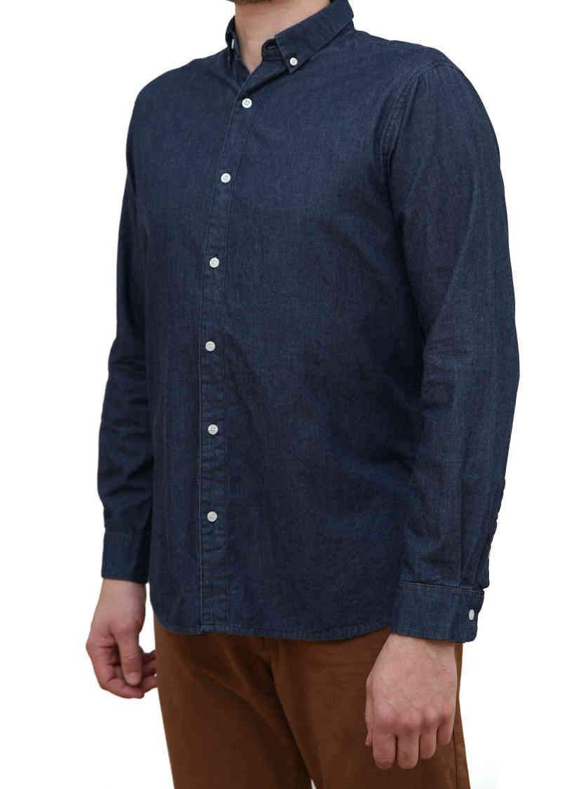 KINN Apparel Men's Denim Shirt