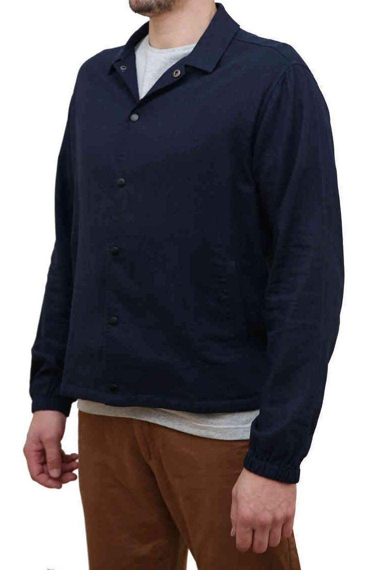 KINN Apparel Men's Lined Linen Jacket