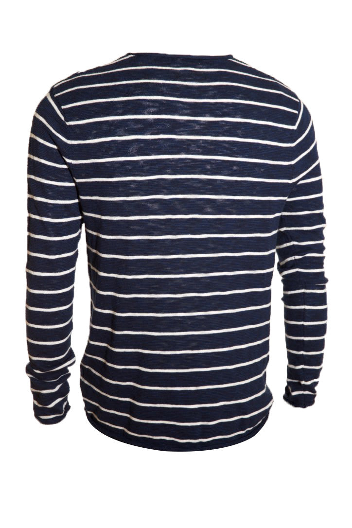 KINN Long sleeve Striped Crew Jumper