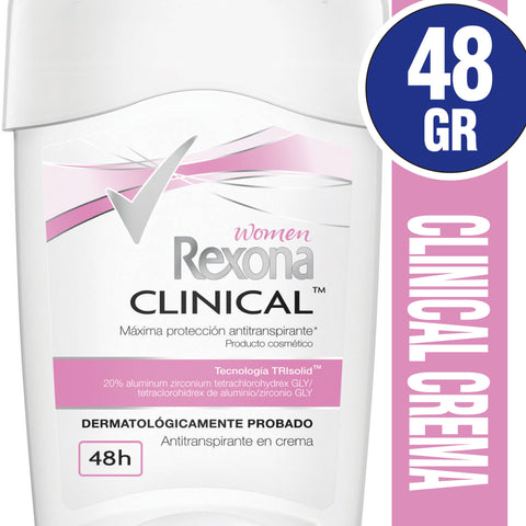 Antitranspirante en Barra REXONA Clinical Woman Original