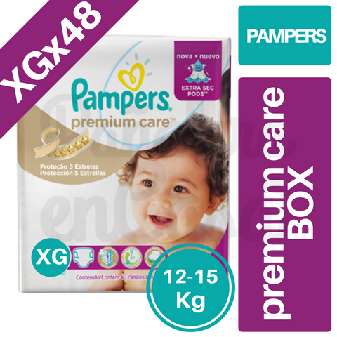 PAMPERS Premium Care BOX XGx48